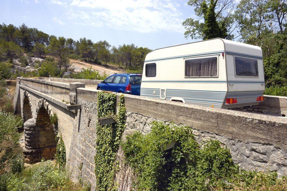 Heerlijk met de auto en caravan op vakantie