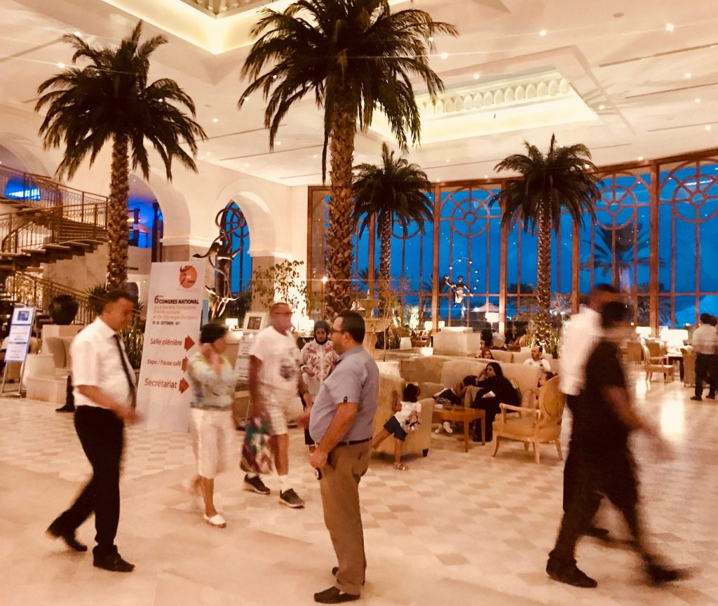 Het bruisende Mövenpick hotel in Sousse