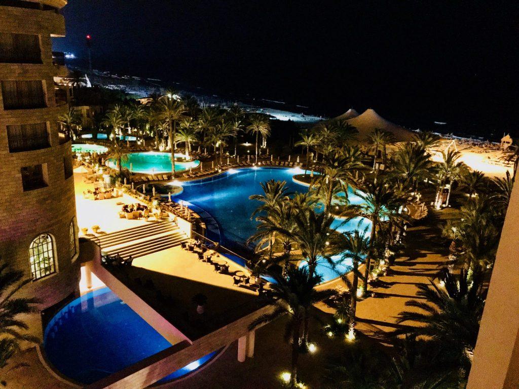 Het Mövenpick hotel in Sousse waar we verbleven