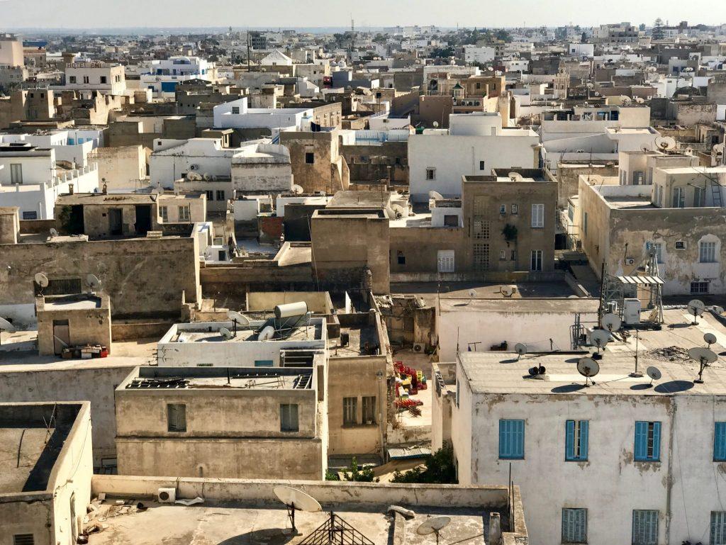 Uitzicht over Sousse