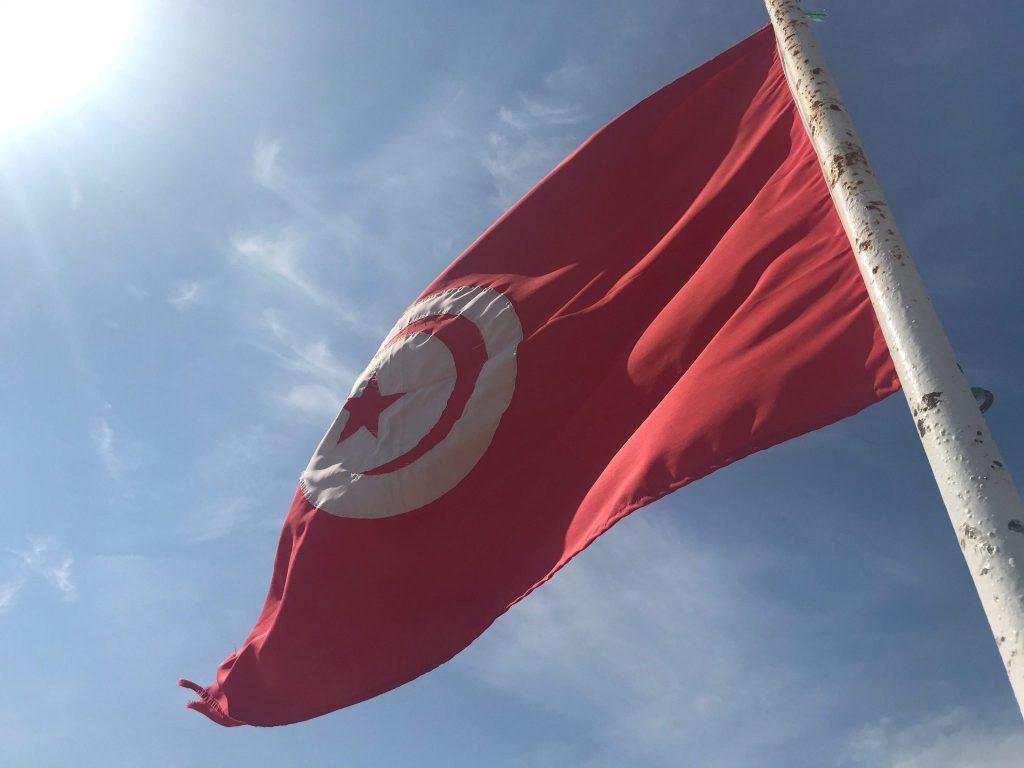 De Tunesische vlag