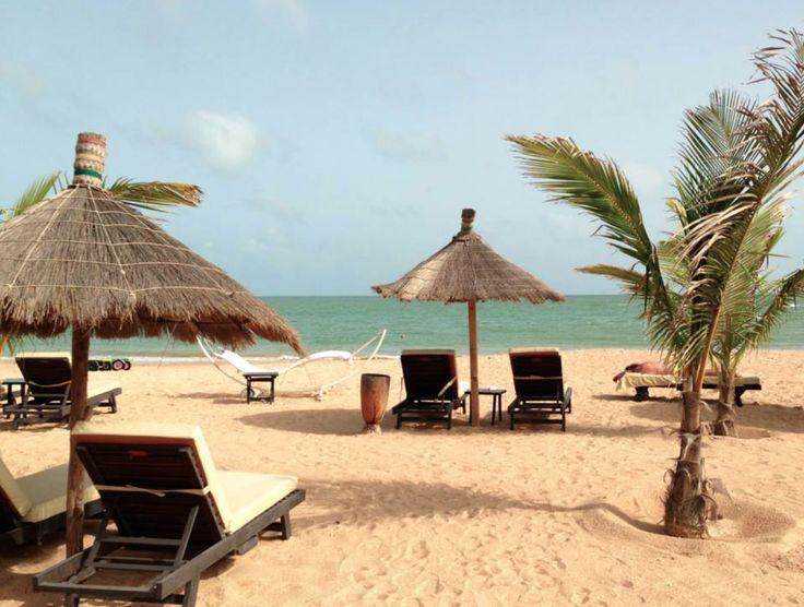 Senegal saly strand
