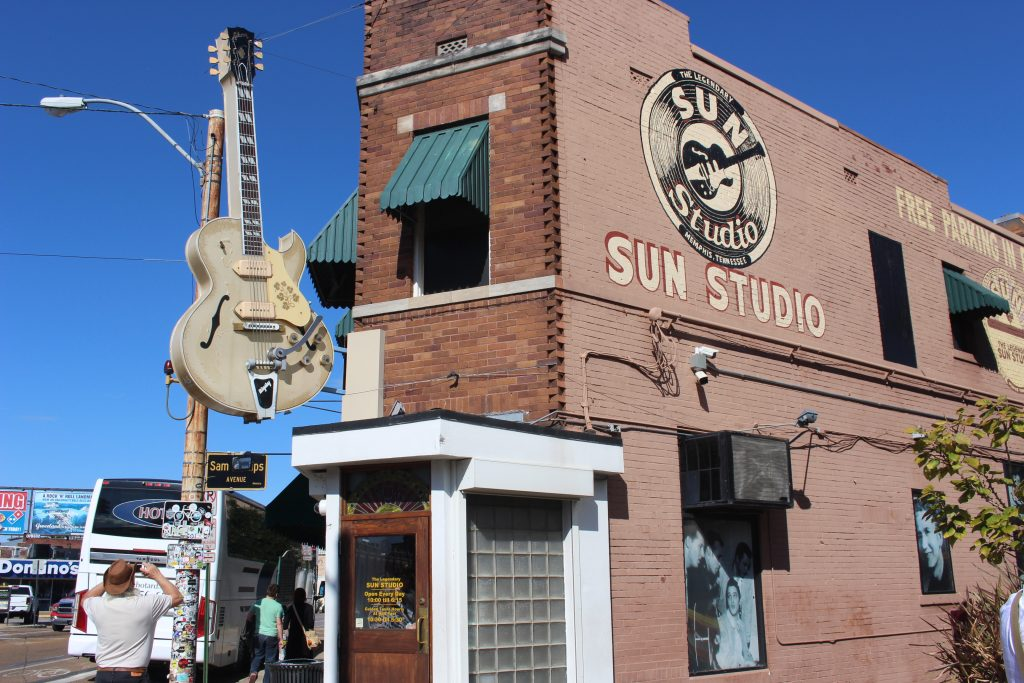 Sun Studio's in Memphis