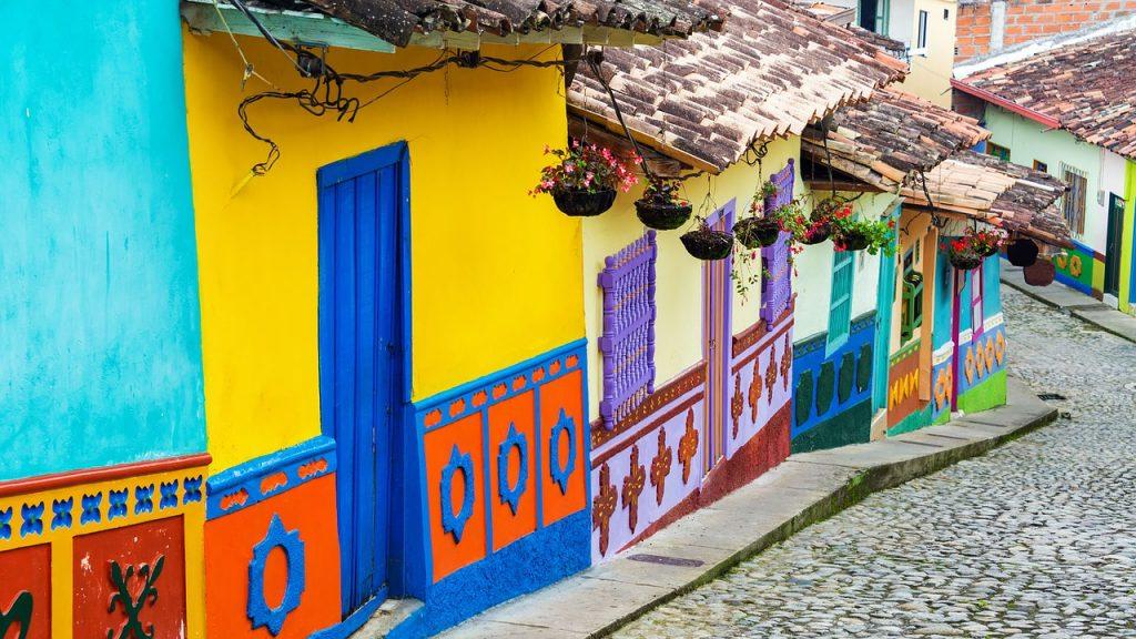 Top 5 steden van Colombia