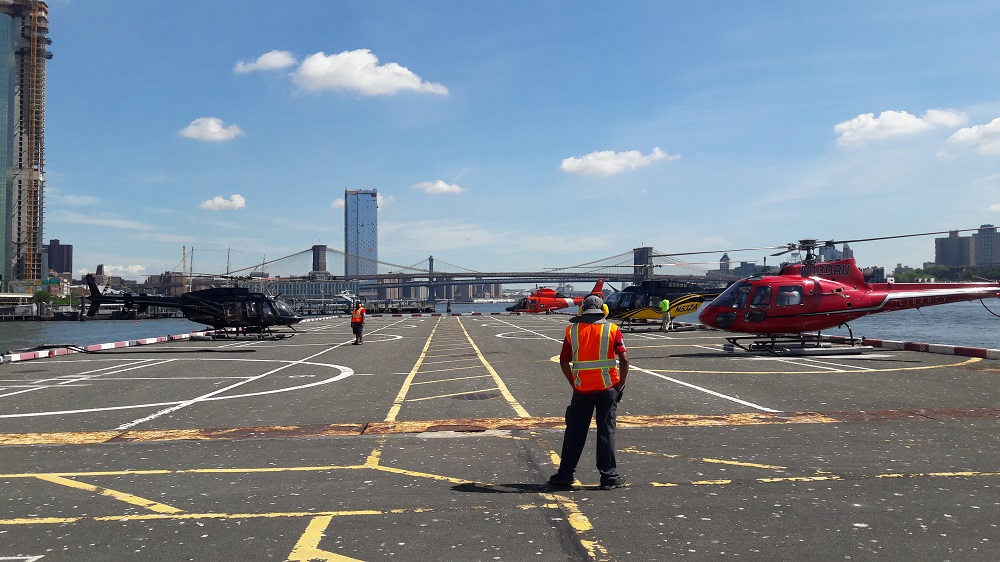 Helikopter platform