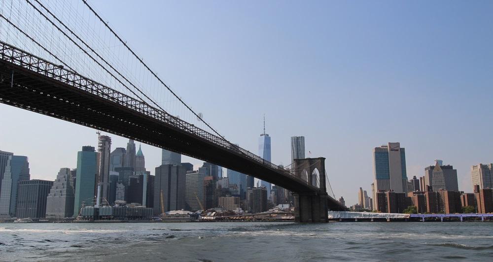 Brooklyn Bridge tijdens fietsexcursie