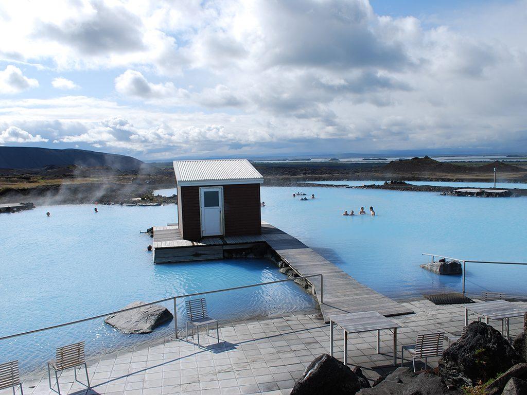 Myvatn geothermische baden Noord-IJsland
