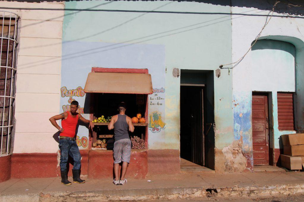 De straten van Trinidad