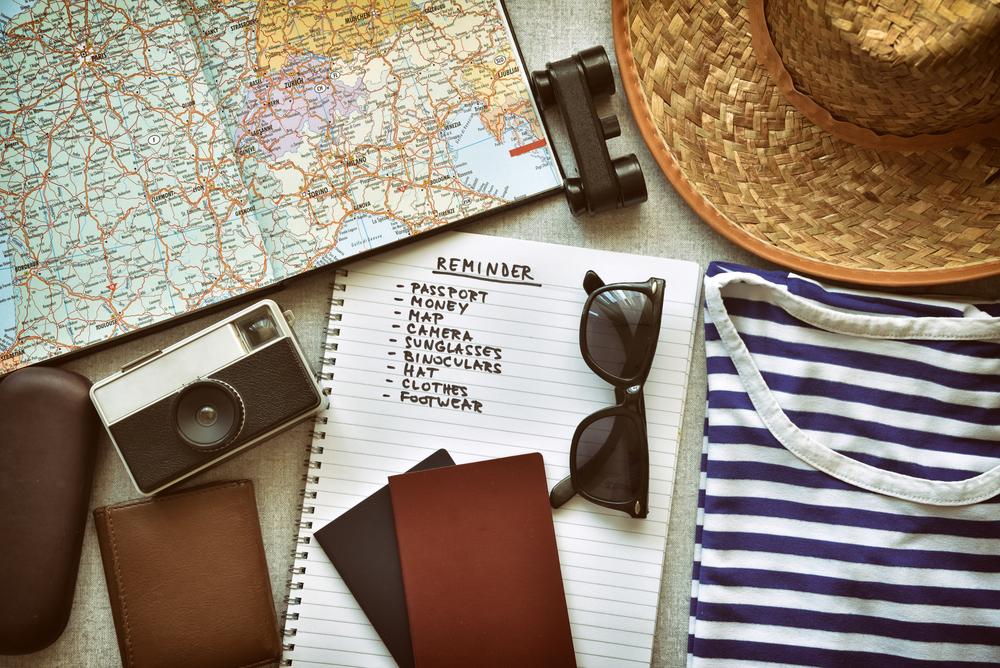 Inpaklijst voor op vakantie: de checklist om niets te vergeten