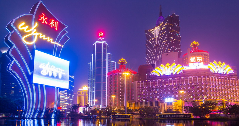 Top 5 mooiste casino's in Macau