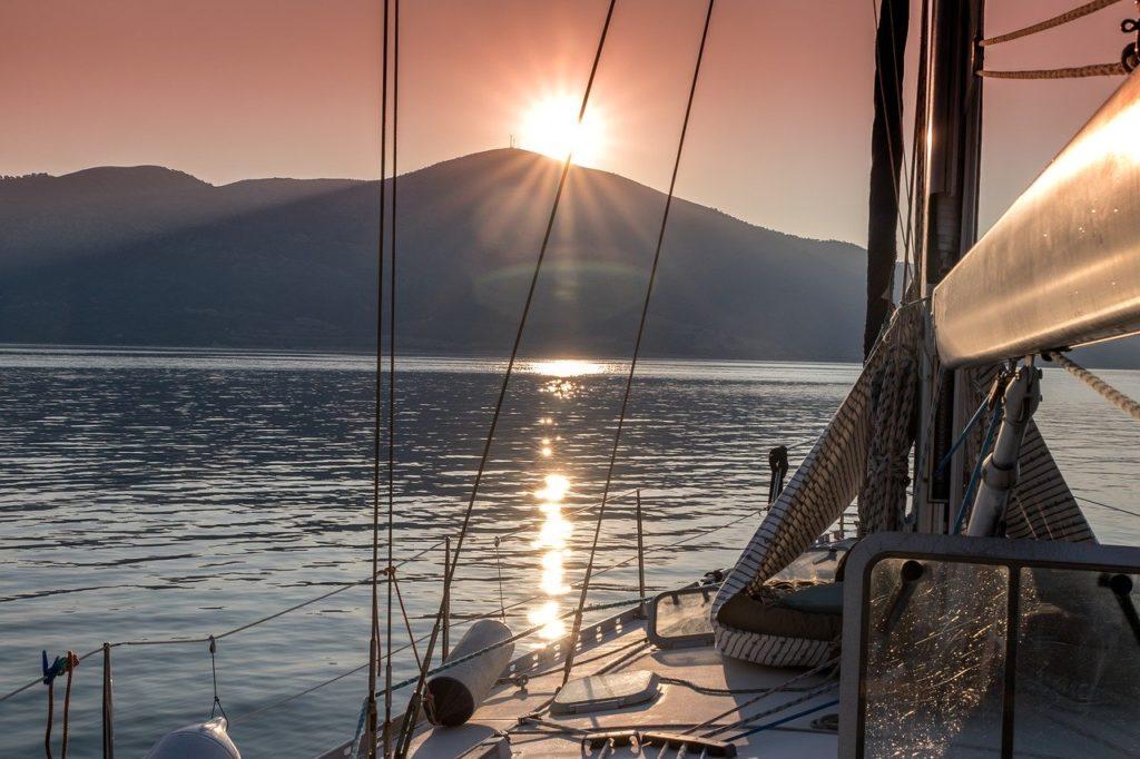 Boottocht langs de Mediterranen