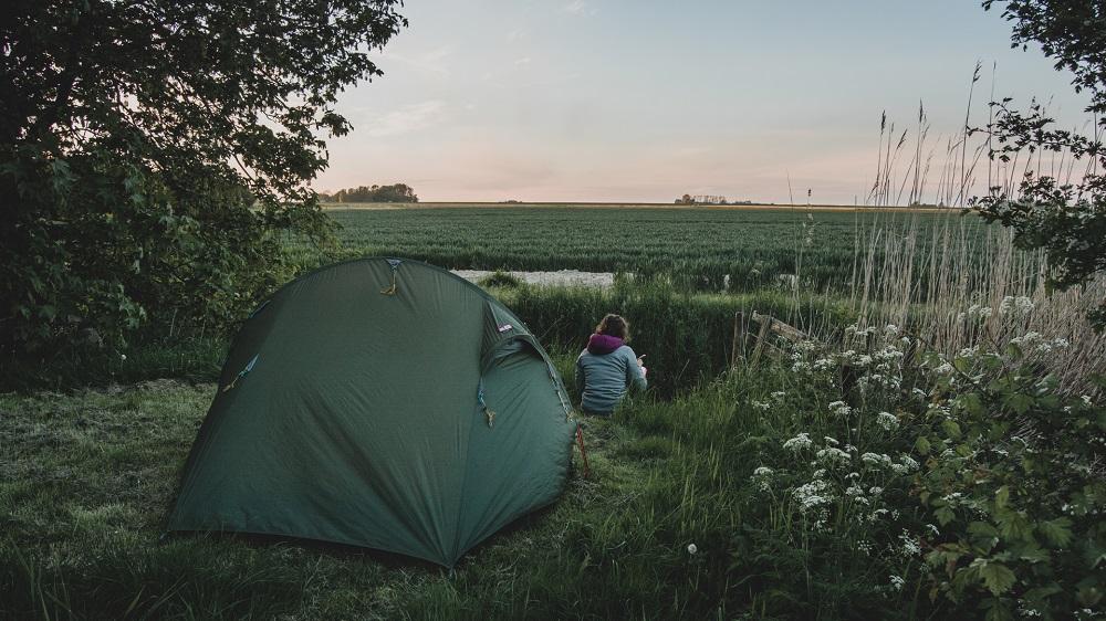 5 Bijzondere kampeerplekken in Nederland